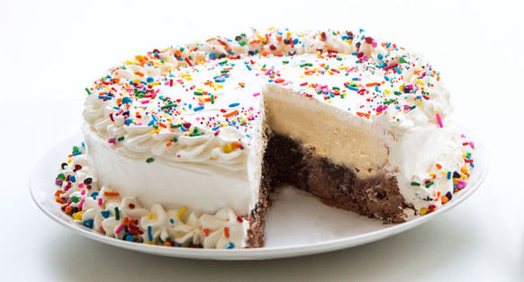 Add an ice cream cake to your party at Hogan's Alley Paintball